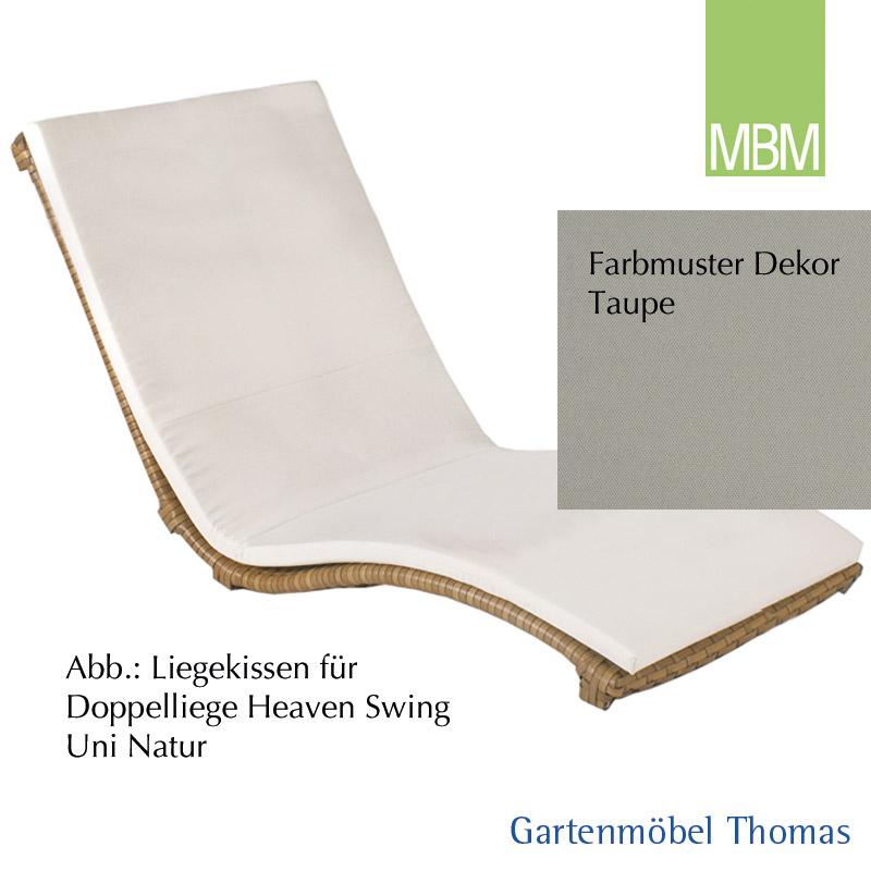 Gartenmöbel Thomas | MBM HEAVEN SWING Liegenkissen Doppel / Dekor ...