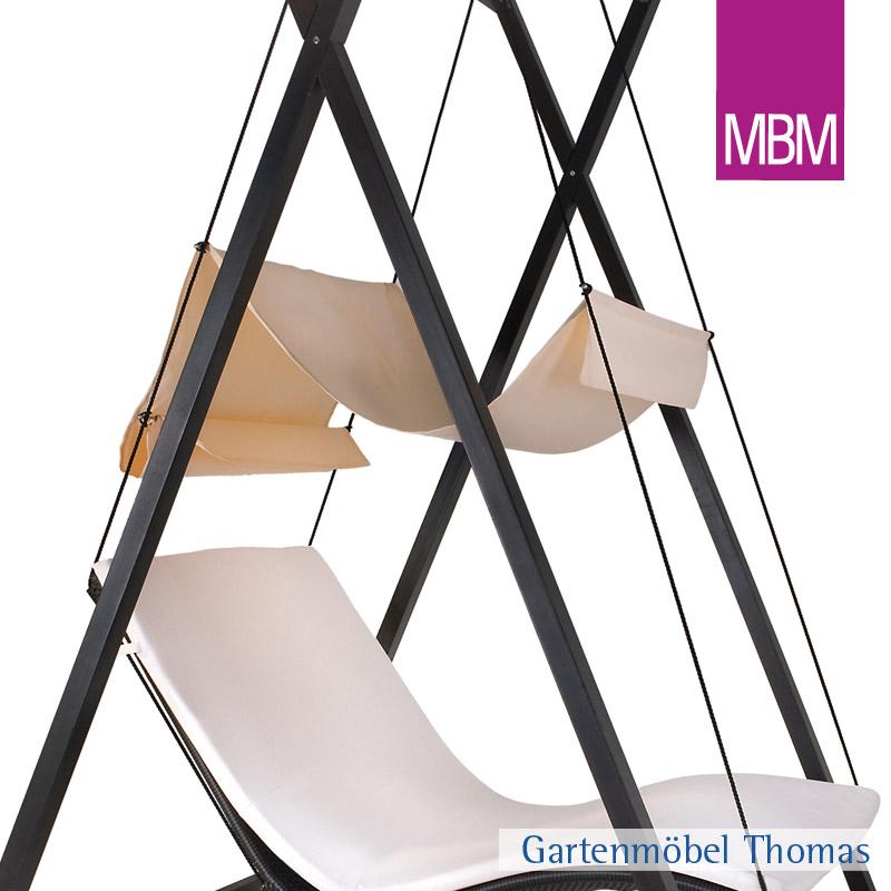 Gartenmöbel Thomas | MBM HEAVEN SWING Sonnendach Doppelliege | hier ...