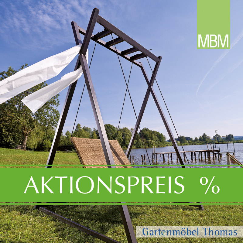 Gartenmöbel Thomas | MBM HEAVEN SWING SET Liege Doppel Twist + ...