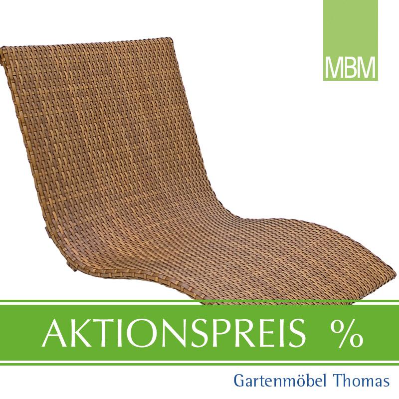 Gartenmöbel Thomas | MBM HEAVEN SWING Liege Doppel Geflecht Tobacco ...
