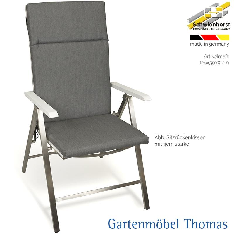 Gartenmöbel Thomas | Schwienhorst HOCHLEHNER Sitzrückenkissen ...