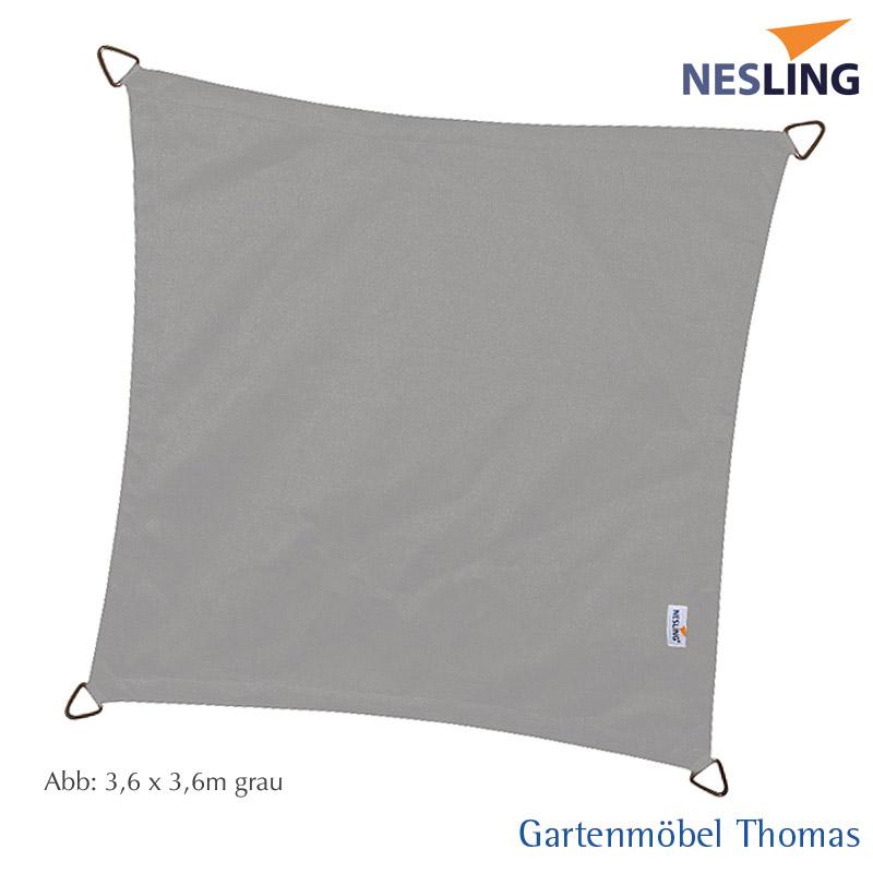 gartenm bel thomas nesling sonnensegel dreamsail quadrat 5x5m farbe grau hier online kaufen. Black Bedroom Furniture Sets. Home Design Ideas