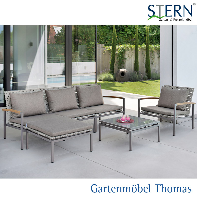 Lounge gartenm bel alu nabcd for Gartenmobel stern outlet