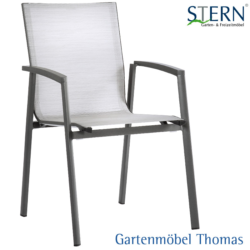 Gartenmöbel Thomas | Stern NEW TOP SET 6 Sessel Alu-Anthrazit ...