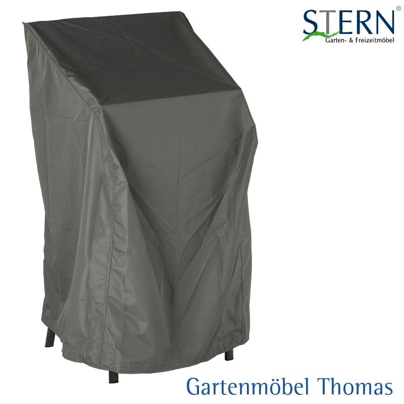 Stern Abdeckhaube 4 6 Stapelsessel   Farbe Grau   66x68x117cm