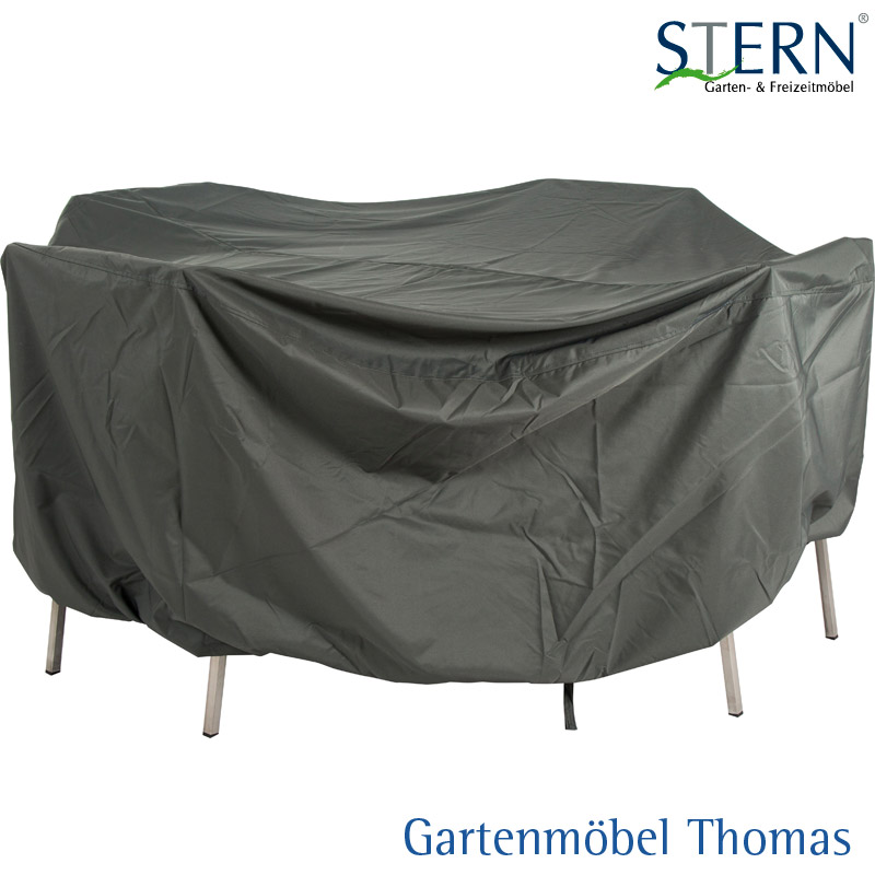 Stern Schutzhulle Sitzgruppe Polyester Farbe Grau 200x150x90cm Rechteckig