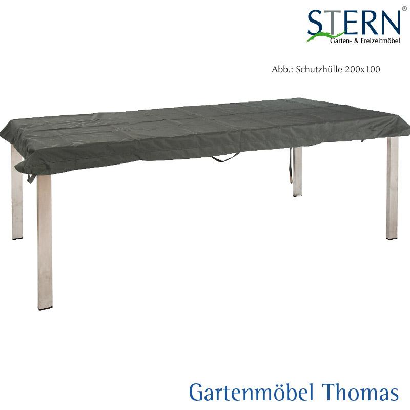 Gartenmöbel Thomas   Stern Abdeckhaube Tischplatte - Farbe Grau ...