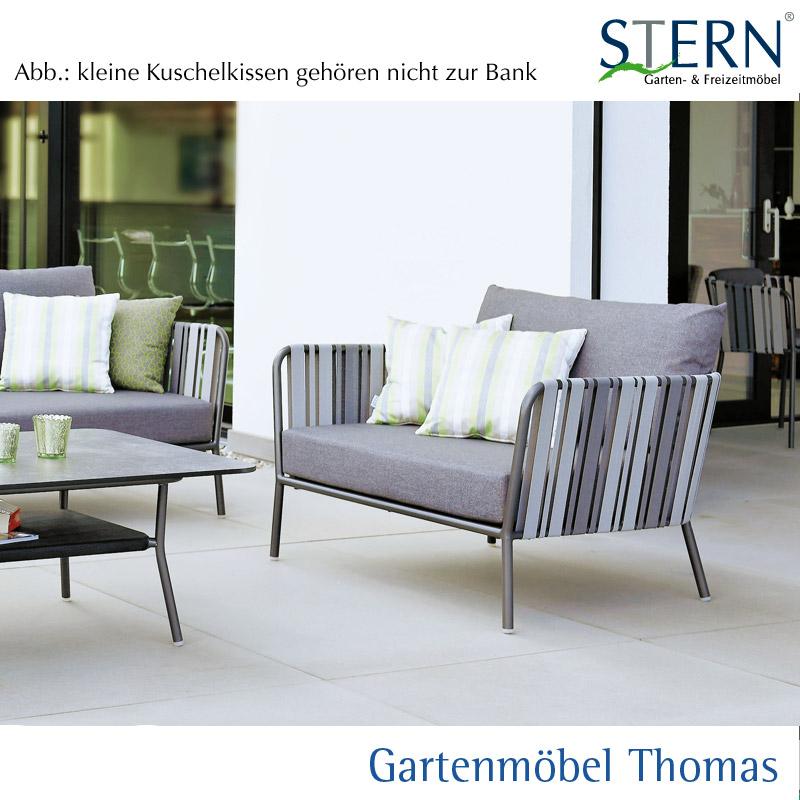 Gartenmöbel Thomas | Stern SPACE 2-Sitzer Loungesofa Alu Anthrazit ...