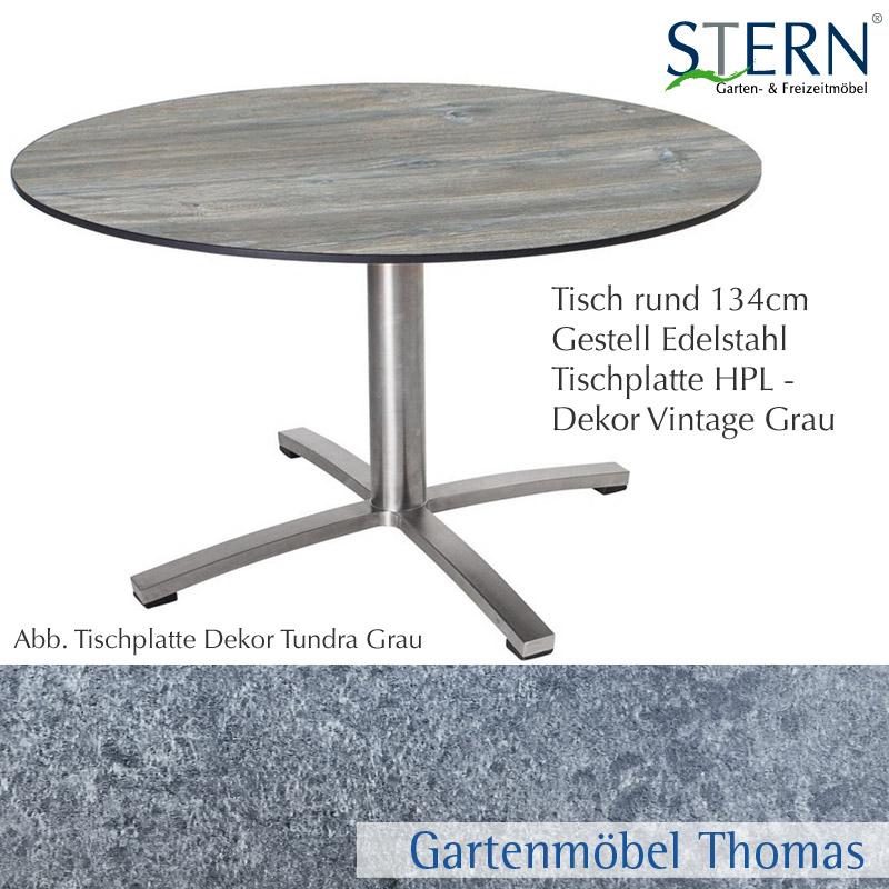 Gartentisch Rund 180 Cm Fabulous Komplett Neu Tisch Wei Rund Genial