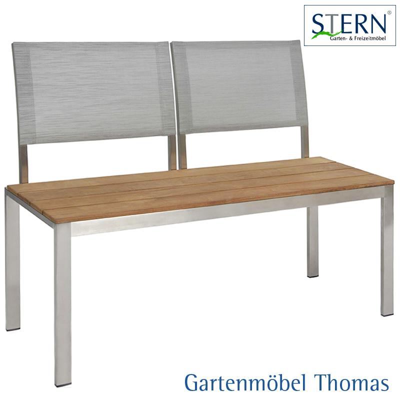 Gartenmöbel Thomas | Stern ARIMA 2-Sitzer Bank Edelstahl ...
