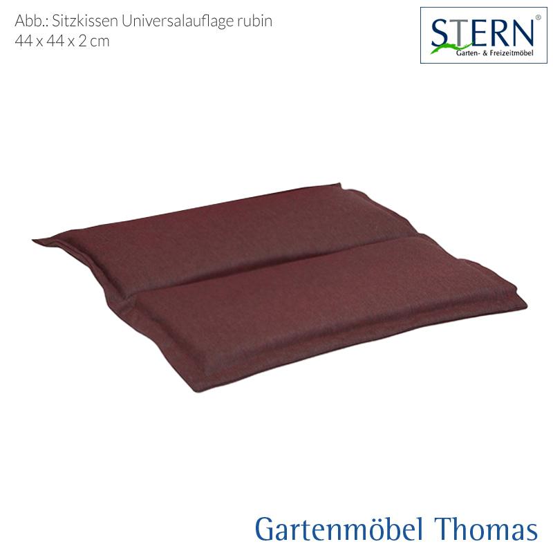 Gartenmöbel Thomas | Stern UNIVERSAL SITZKISSEN 44x44x2cm Dekor ...
