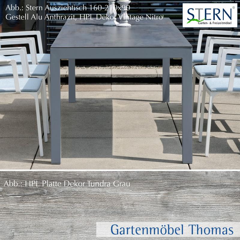 Gartenm bel thomas stern standard ausziehtisch 174 for Ausziehtisch vintage