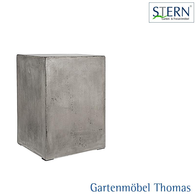 Außergewöhnlich Stern BETONSÄULE 33x33x50   online kaufen - Gartenmöbel Thomas &EB_62