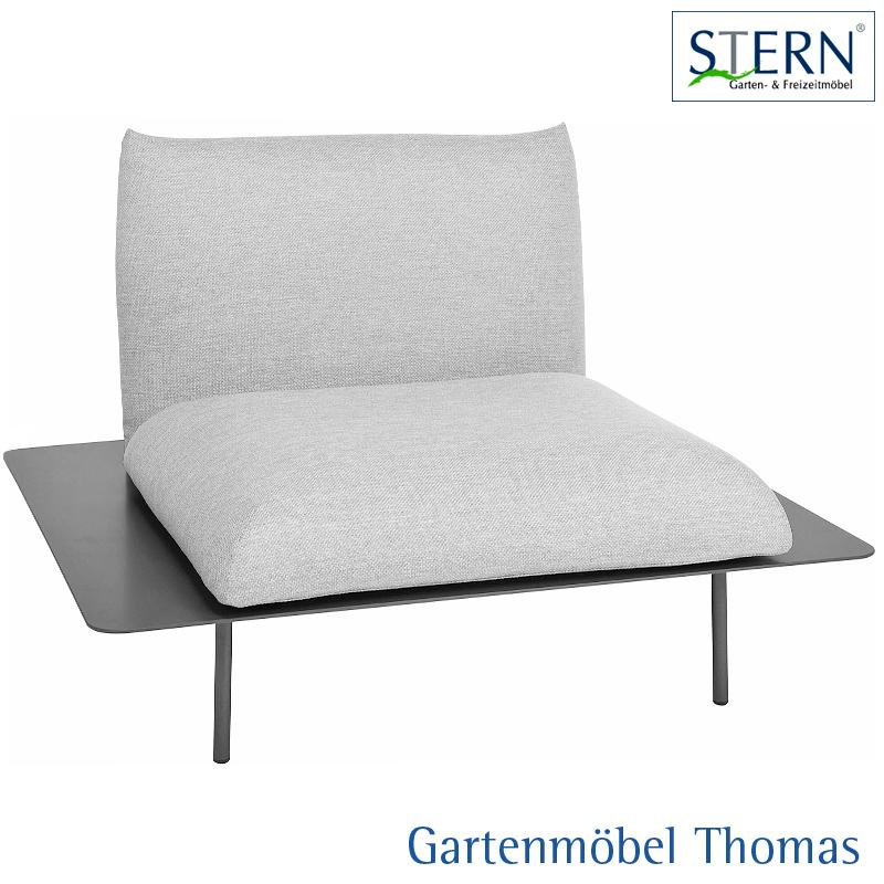 Gartenmöbel Thomas | Stern GOA Lounge Sessel Alu Anthrzait - Sitz ...