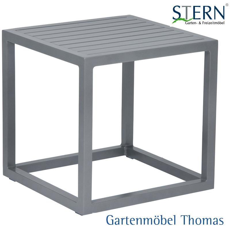 Gartenmöbel Thomas | Stern ROBIN Beistelltisch 40x40 Alu Graphit ...