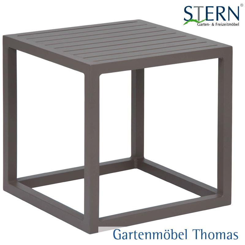 gartenm bel thomas stern robin beistelltisch 40x40 alu. Black Bedroom Furniture Sets. Home Design Ideas