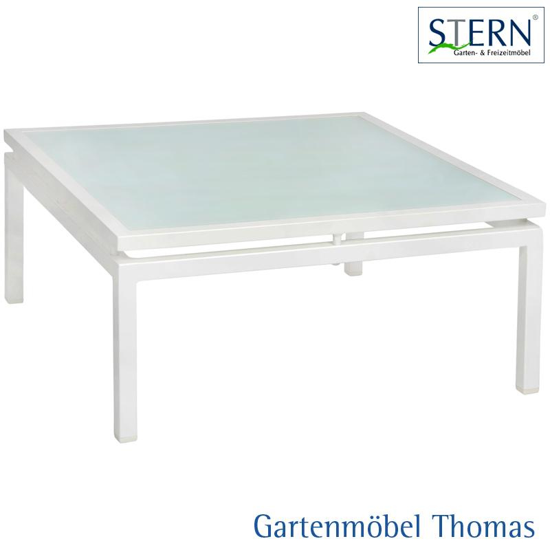 Gartenmöbel Thomas | Stern SKELBY Lounge Beistelltisch Alu Weiss ...