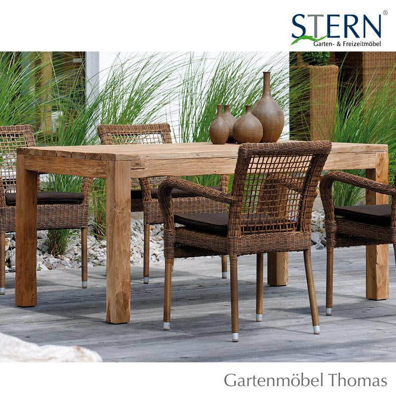 Stern Tisch 260x100cm Old Teakholz Online Kaufen Gartenmöbel