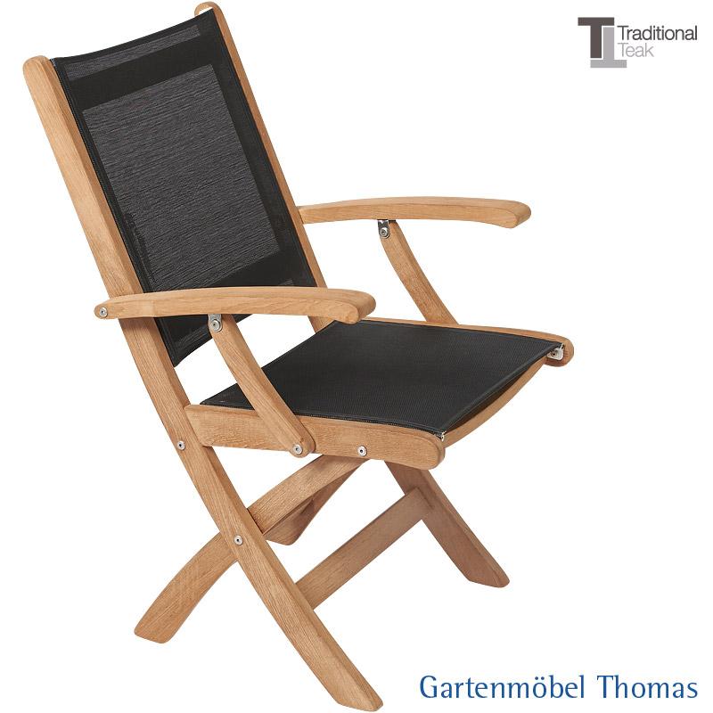 Gartenmöbel Thomas | Traditional Teak KATE Klappsessel Teak ...
