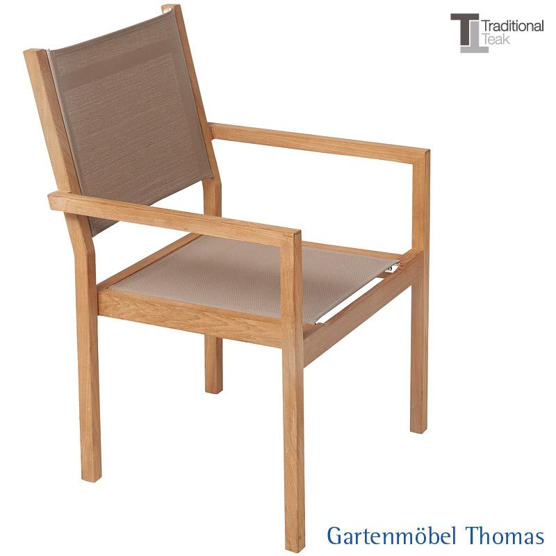 Gartenmöbel Thomas | Traditional Teak KATE Stapelsessel Teak ...